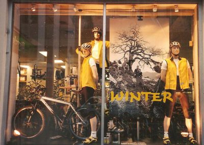 Clarence St Cyclery 2 Winter