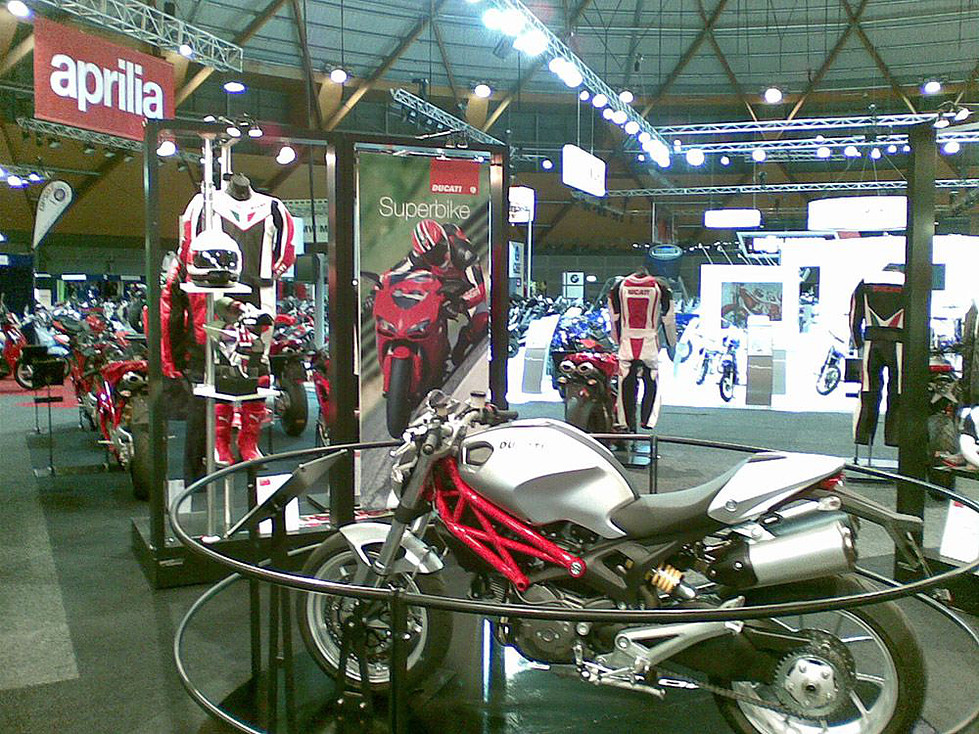 Ducati Motorcyles product launch event