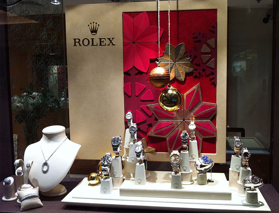 J Farren Price Rolex Watches